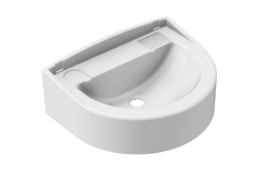 WALL-MOUNTED WASHBASIN DP21N