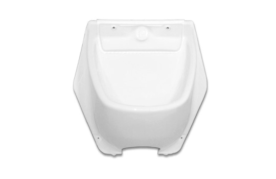 URINAL WITH FLUSH WATER DISTRIBUTOR