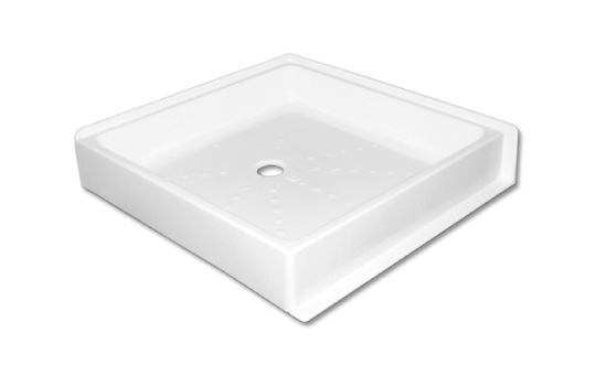 RAISED CORNER SHOWER TRAY DP39